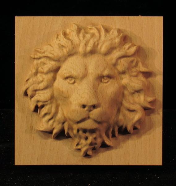 Image Plaque - Regal Lion