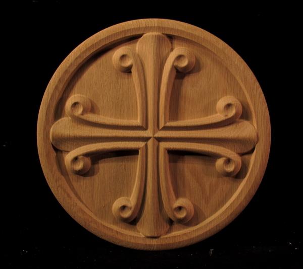 Image Cruciform Medallion