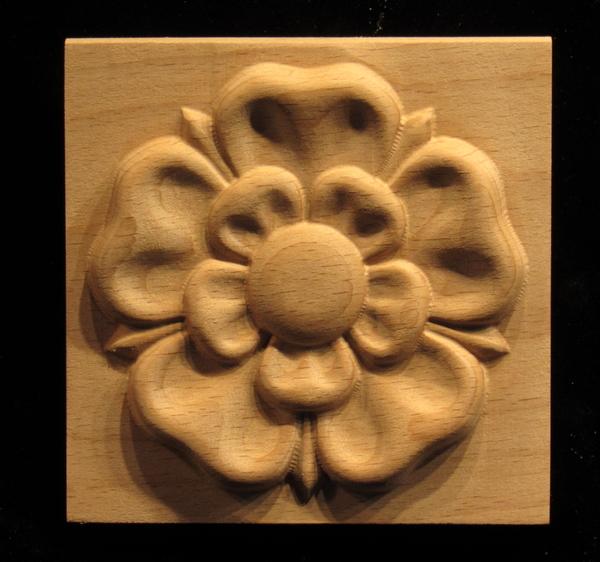 Image Plaque - Tudor Rose