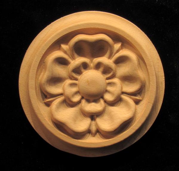 Image Rosette - Tudor Rose
