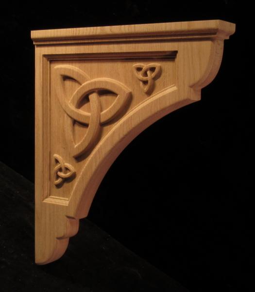 Image Bracket - Celtic Trefoil Knot 19T x 16D x 2.75W