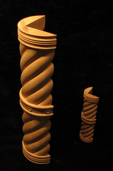 Spiral 3 4 Column Set Columns And Newel Posts