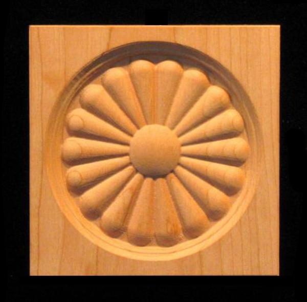 Image Corner Block - Sun Daisy