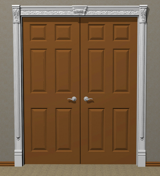 Image Carved Trim, Casing, Architrave #15