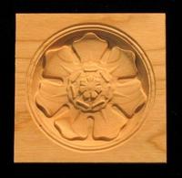 Image Corner Block - Classic Flower #2