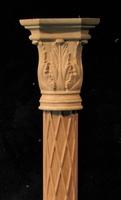 Image Applique Pilaster - Acanthus Capital w Diamond Base