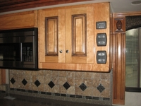 Image Cabinet Door with Carved Rope Molding