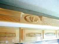 Image Monaco Marquis Coach fascia carving.