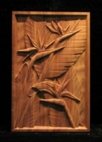 Image Themed Carved Panels - Tropical, Linenfold, Gothic, etc