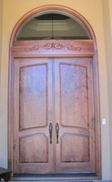Image Carved Applique for door header - Philyaw Residence