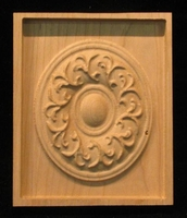 Image Corner Block - French Medallion