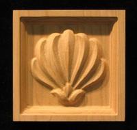 Image Corner Block - Palmette