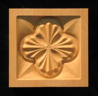 Image Corner Block - Deco Fan