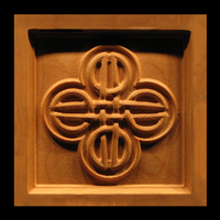Corner Block - Celtic Knot