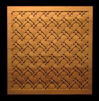Image Tartan Weave Panel