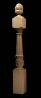 Image Newel Post - Acanthus