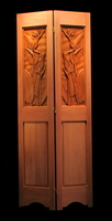 Image Decorative Partition Screen - Bird of Paradise