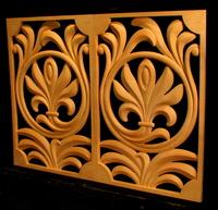 Image Carved Panel Decor