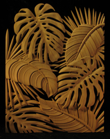 Image Carved Panel Decor