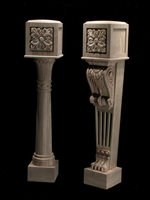 Image Columns, Legs, Newel Posts and Balusters