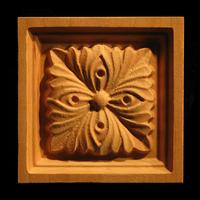 Image Corner Block - Four Leaves