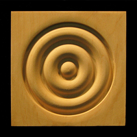 Image Corner Block - Classic Bullseye #2, 3