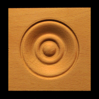 Image Corner Block - Classic Bullseye #6, 3