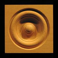 Image Corner Block - Classic Bullseye #9