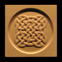 Corner Block - Celtic Knot Circle