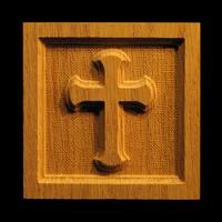 Image Corner Block - Cross