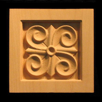 Image Corner Block - Craft Swirls