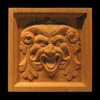 Image Corner Block - Green Man