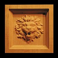 Image Corner Block - Roaring Lion