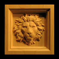 Image Corner Block - Regal Lion