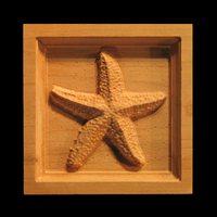 Corner Block - Starfish