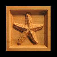Image Corner Block - Starfish
