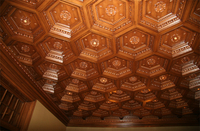 Elegant Coffered Ceilng