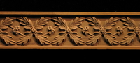 Image Frieze Moulding - Oak Leaves Weave