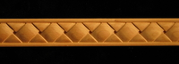 Image Frieze Moulding - Square Basket Weave