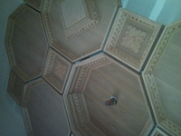Coffered Ceiling - Acanthus Four Leaf