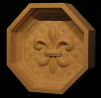 Fleur de Lis - Coffered Ceiling