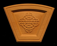 Image Keystone - Celtic Knot Arched Simple