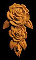 Image Onlay - Rose Drop