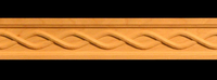 Image Frieze Moulding - Simple Rope Weave