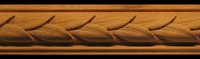 Image Frieze Moulding - Laurel Leaves