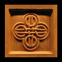 Image Corner Block - Celtic Knot
