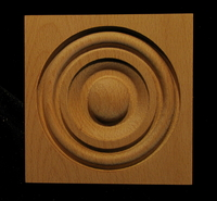 Image Corner Block - Classic Bullseye #1