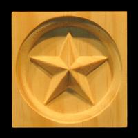 Image Corner Block - Americana Star