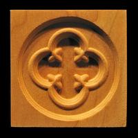 Image Corner Block - Gothic Circle