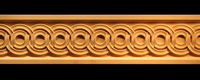 Image Frieze Moulding - Ring Weave (Bow Bridge)